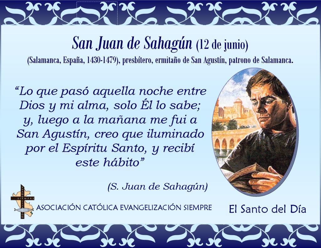 12 de junio San Juan de Sahagún