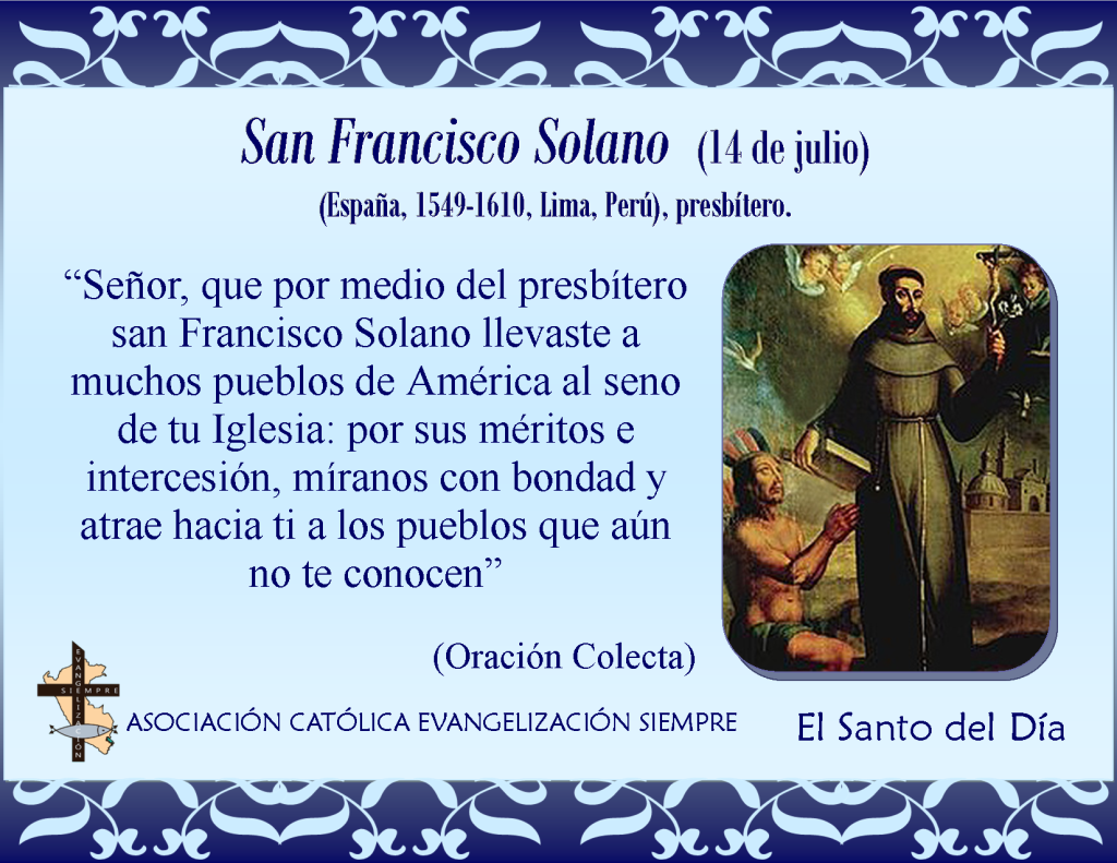 14 de julio San Francisco Solano
