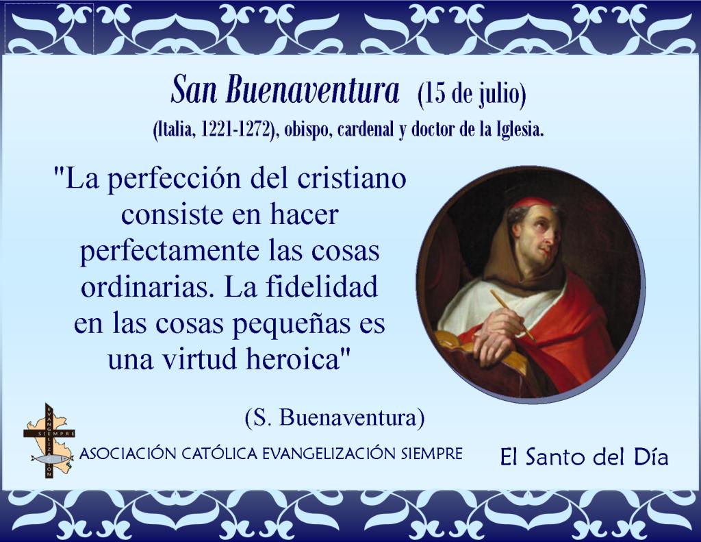 15 de julio San Buenaventura