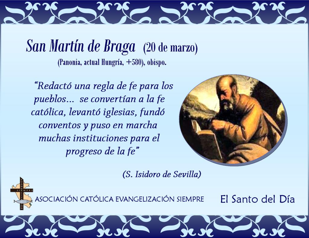 20 marzo San Martín de Braga