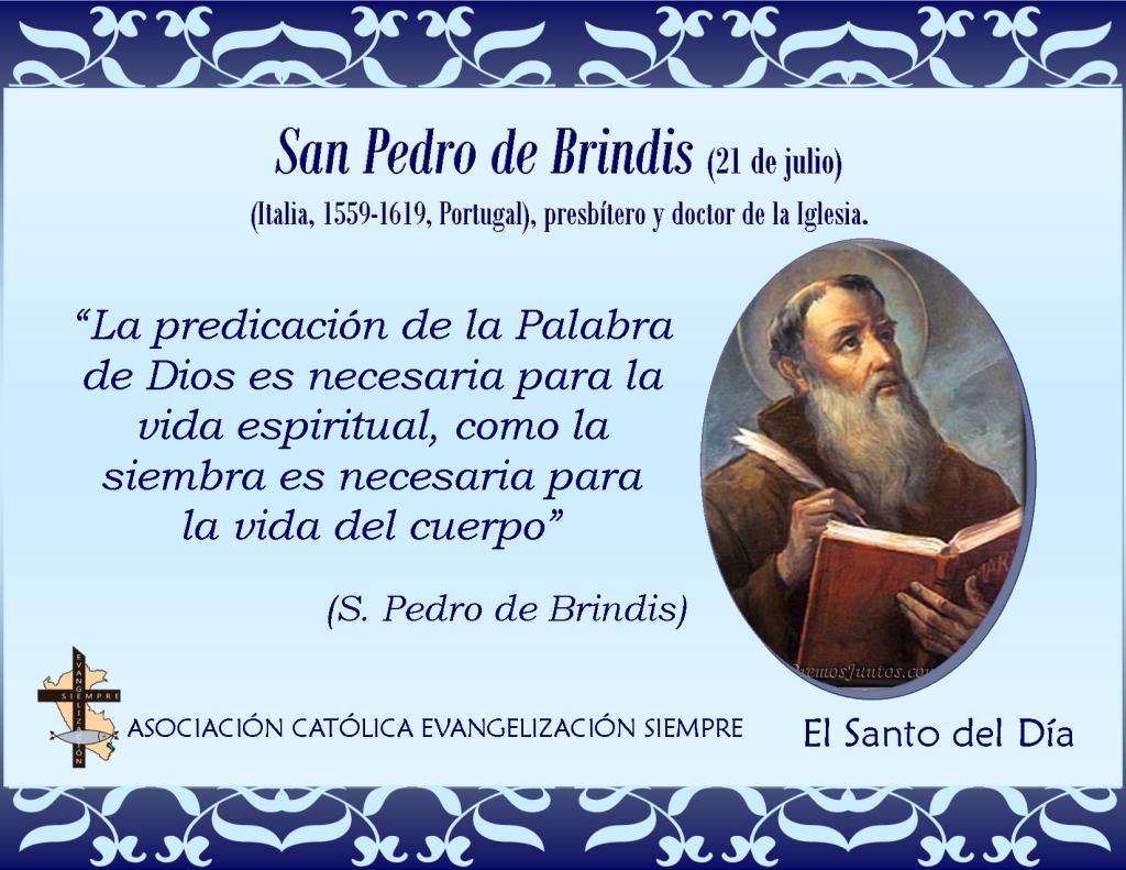 21 de julio San Pedro de Brindis