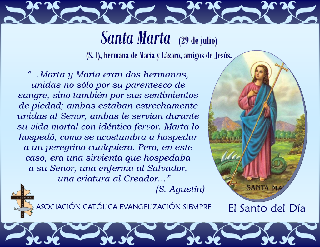 29 de julio Santa Marta