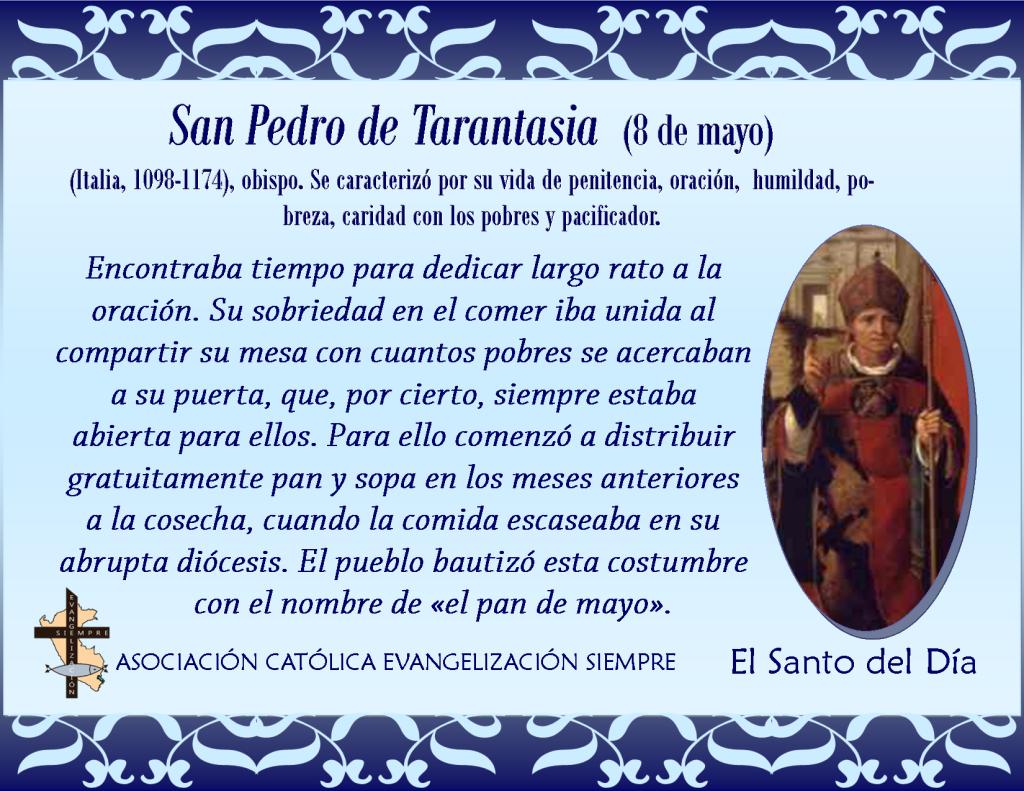 8 de mayo San Pedro de Tarantasia