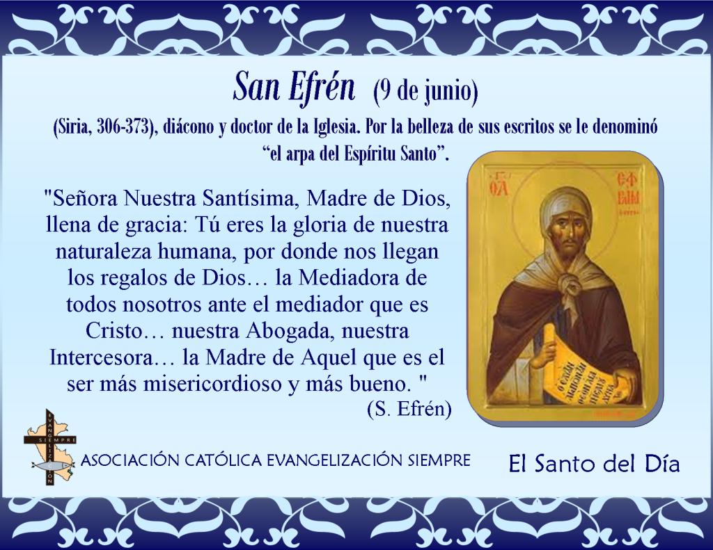9 de junio San Efrén