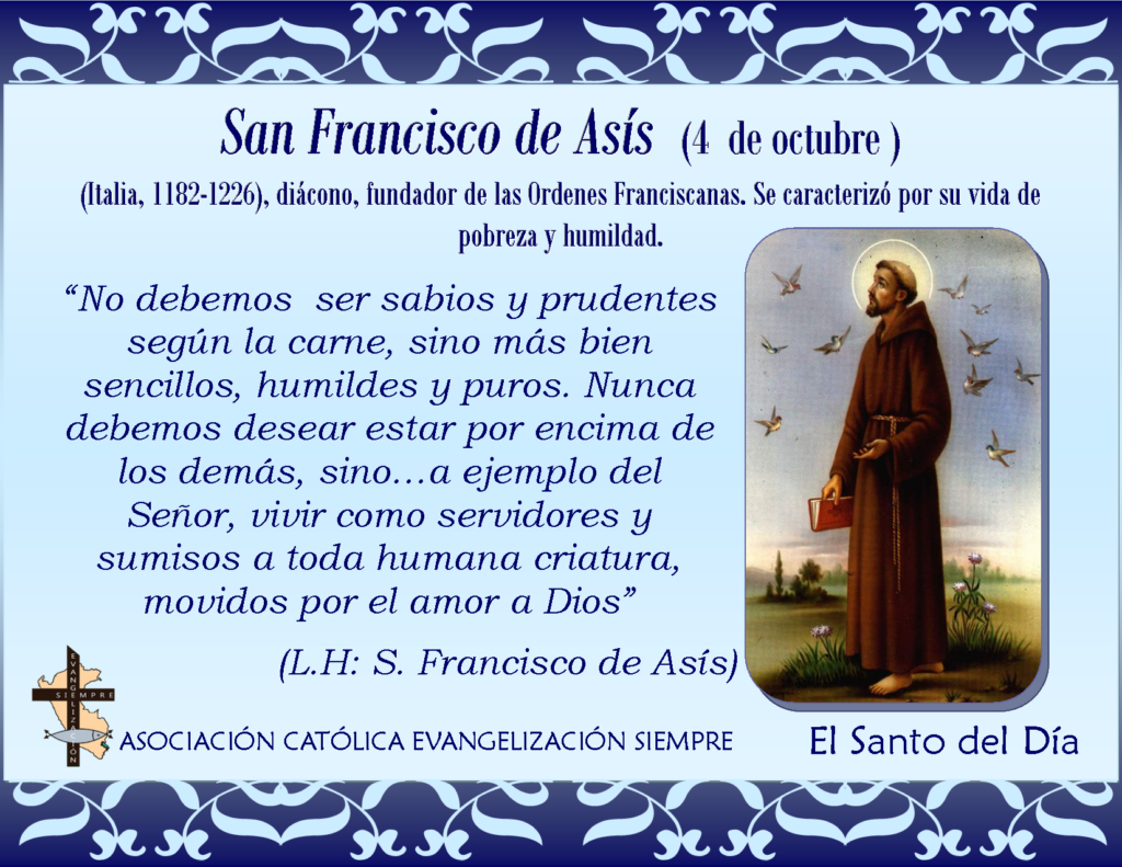 santo-del-dia-4-octubre