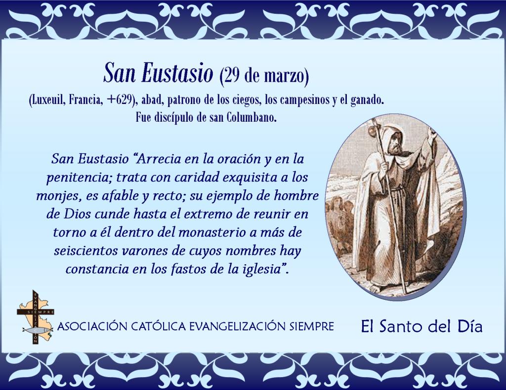 29 marzo San Eustasio