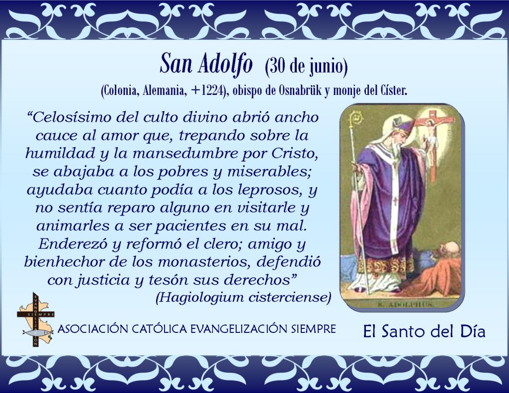 30 junio San Adolfo