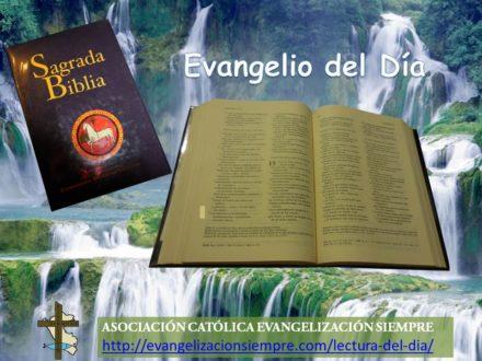 Evangelización Siempre » Lectura del Día
