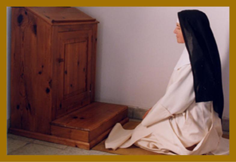 Religiosas orando
