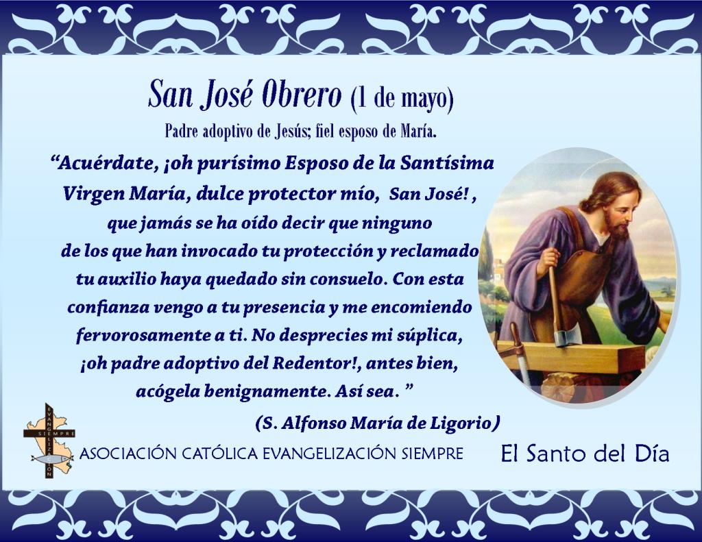 1 de Mayo San José Obrero
