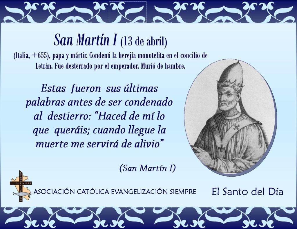 13 abril San Martín I