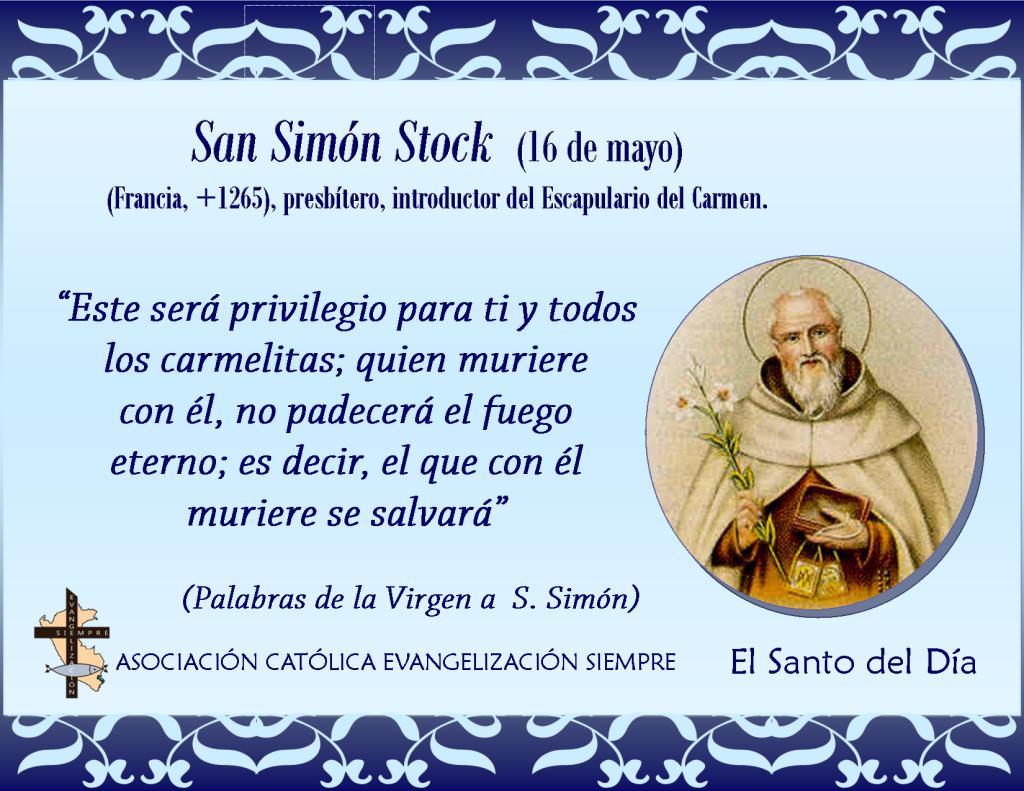 16 mayo San Simón Stok