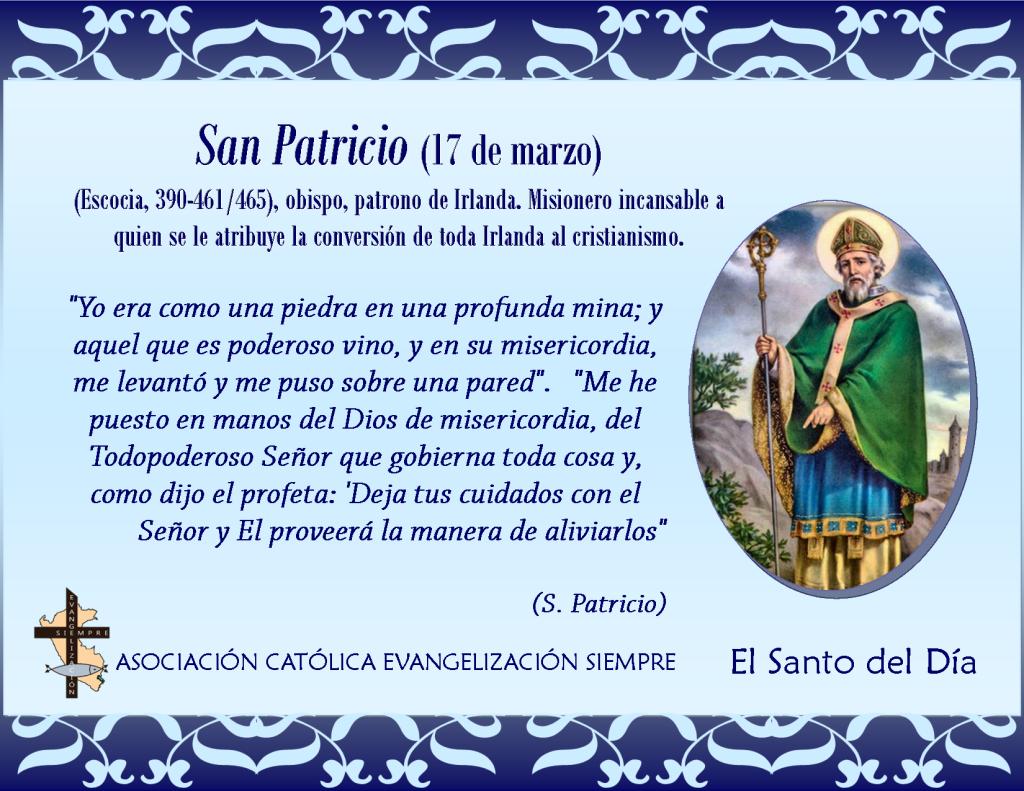 17 marzo San Patricio