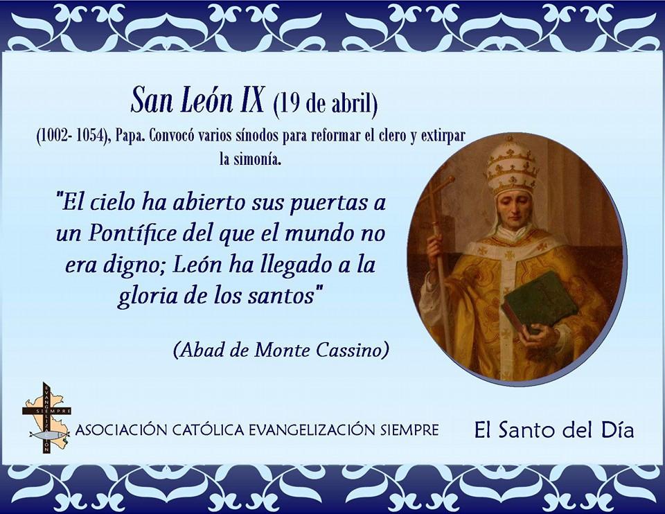 19 de abril San León IX