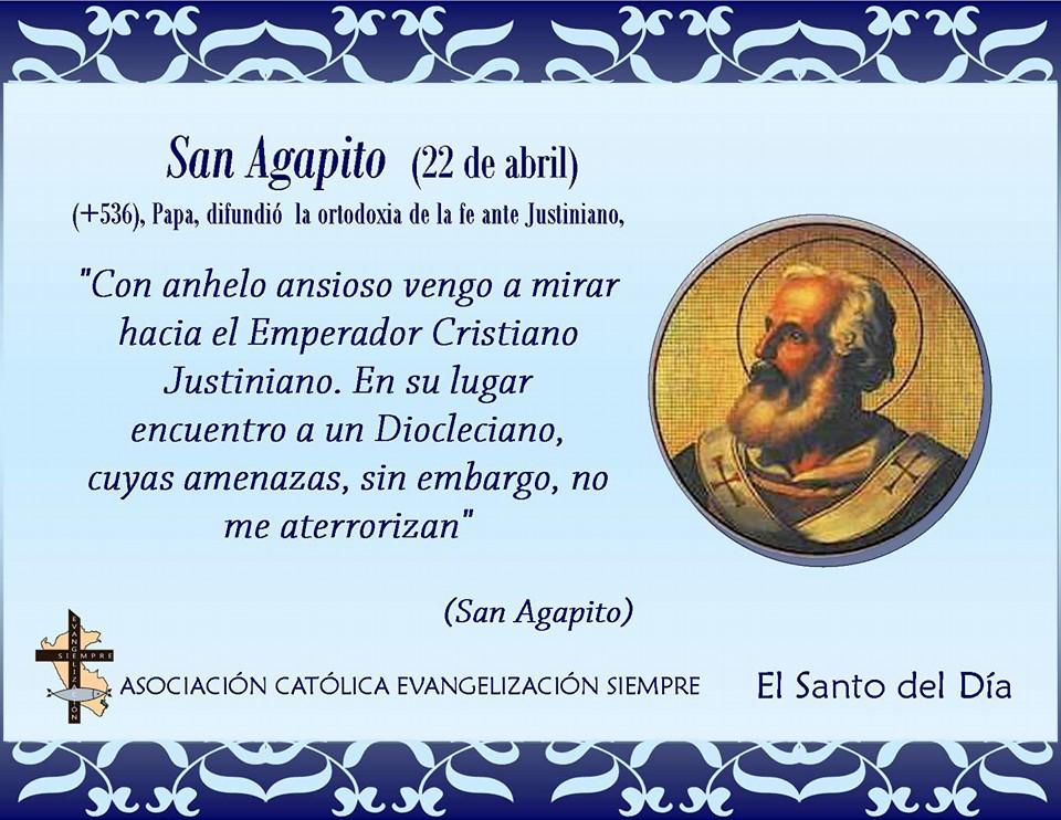 22 San Agapito