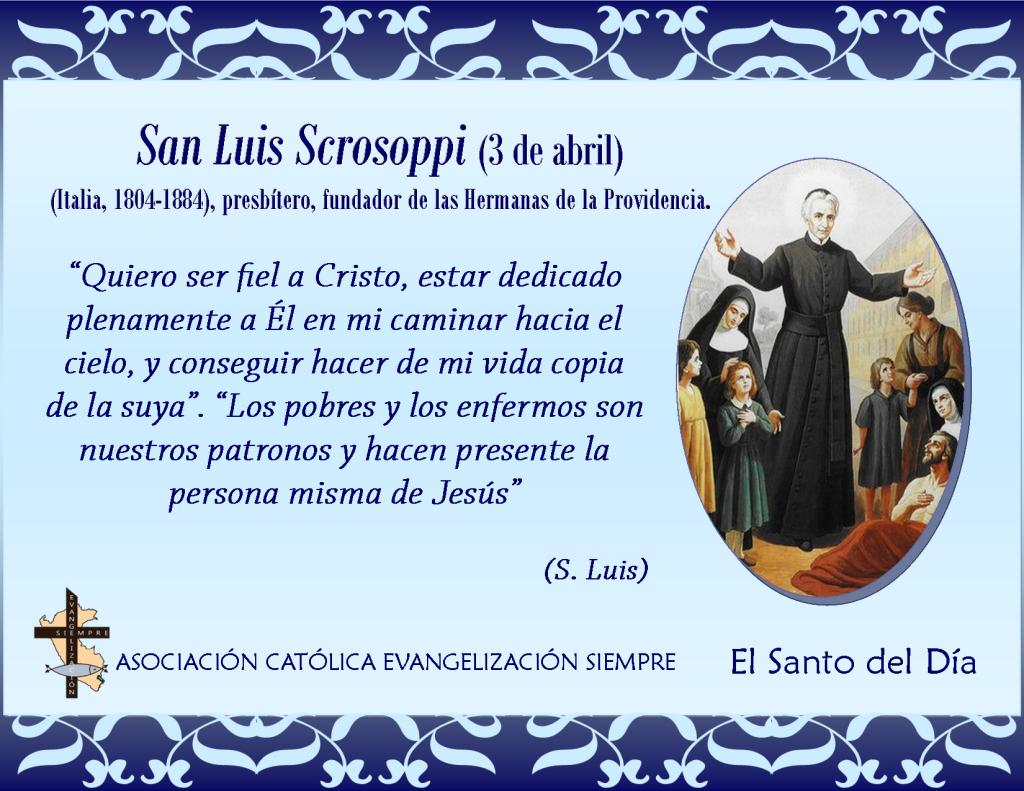 3 abril San Luis Scrosoppi