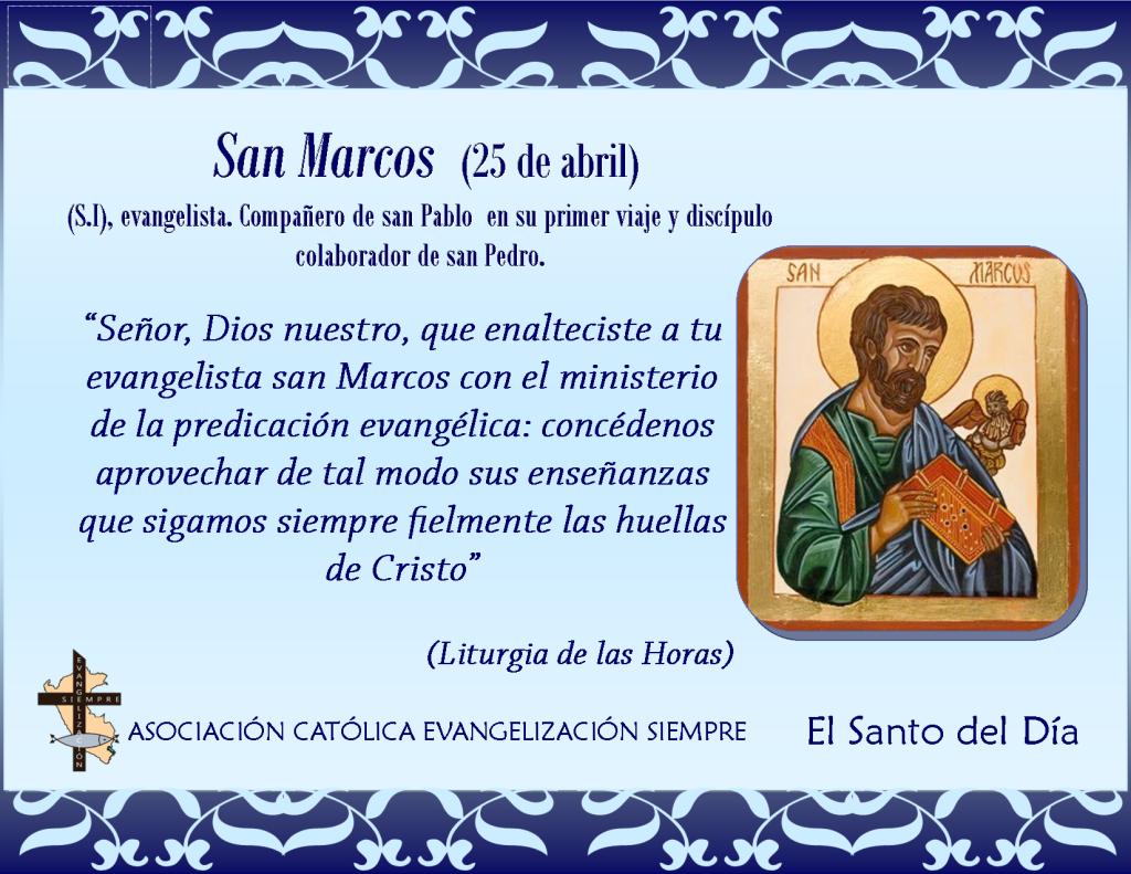 25 abril San Marcos
