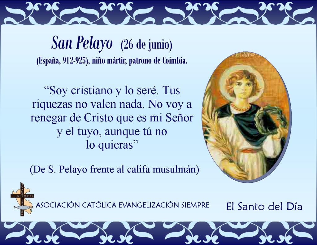 26 de junio San Pelayo