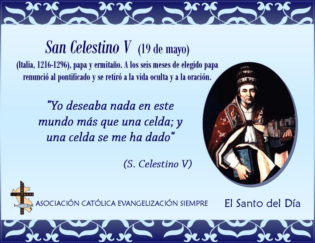 19 de mayo San Celestino V